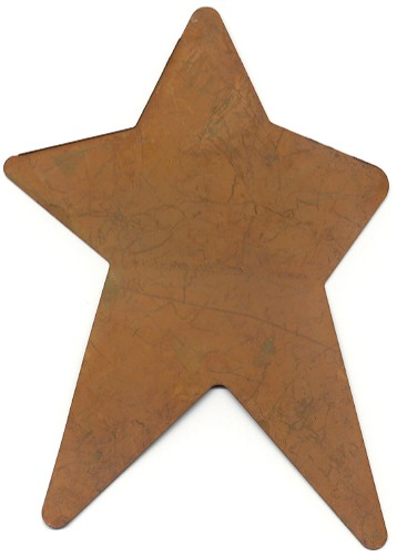 Overs Country Store Wholesale Rusty Tin Stars